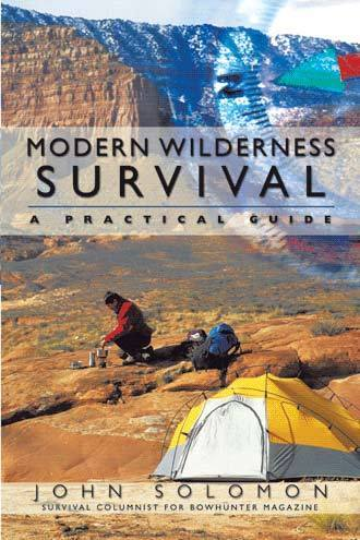 Modern Wilderness Survival - book