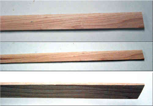 Hickory Bow Backing