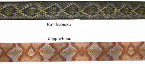 Artificial Snakeskin Backing