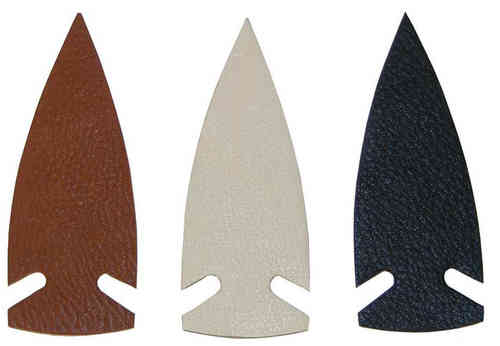 Traditional Deerskin Arrowheads