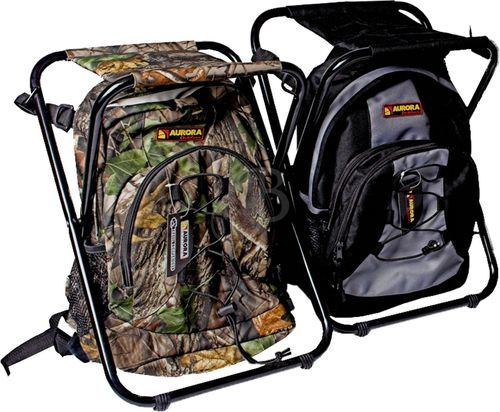 Backpack & Stool camo